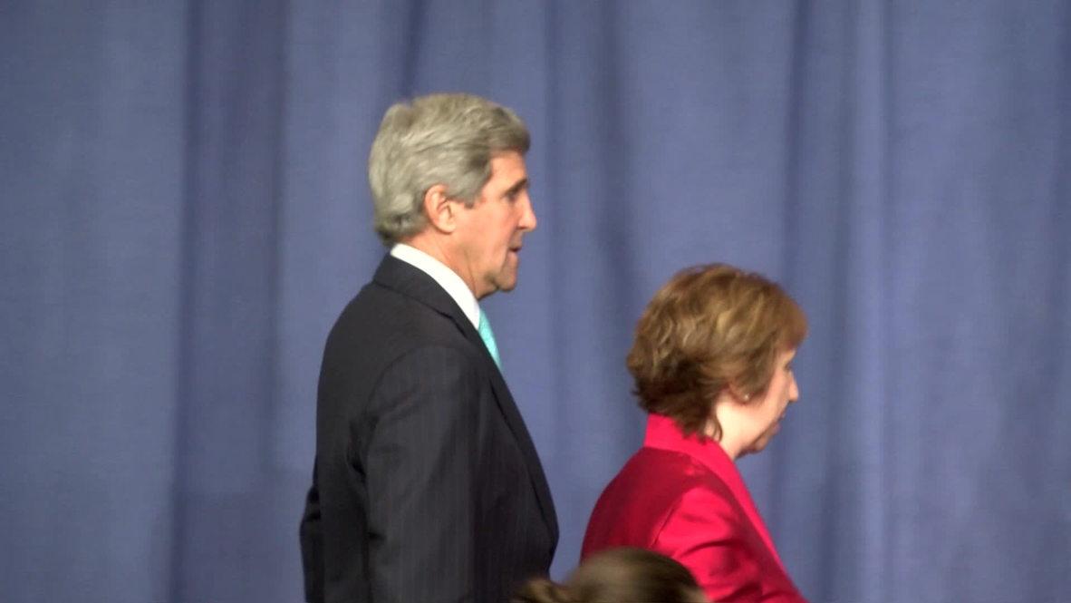 Switzerland: Kerry hopes for progress but threatens sanctions