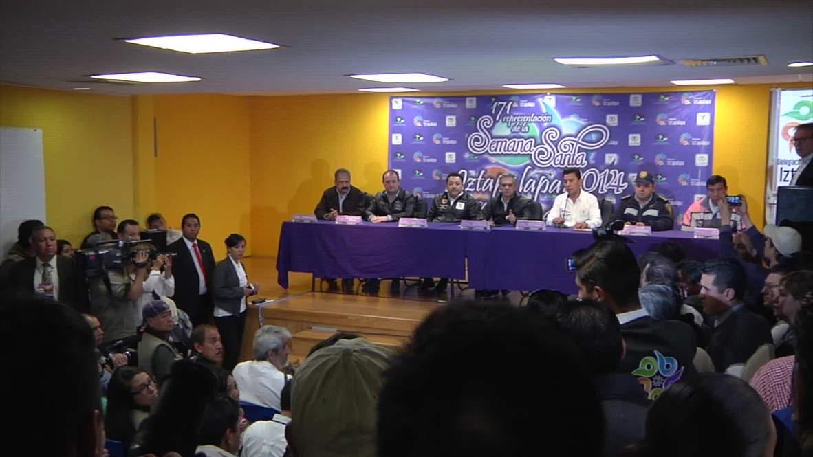 Mexico: Quake strikes during Mexico City mayor press conference