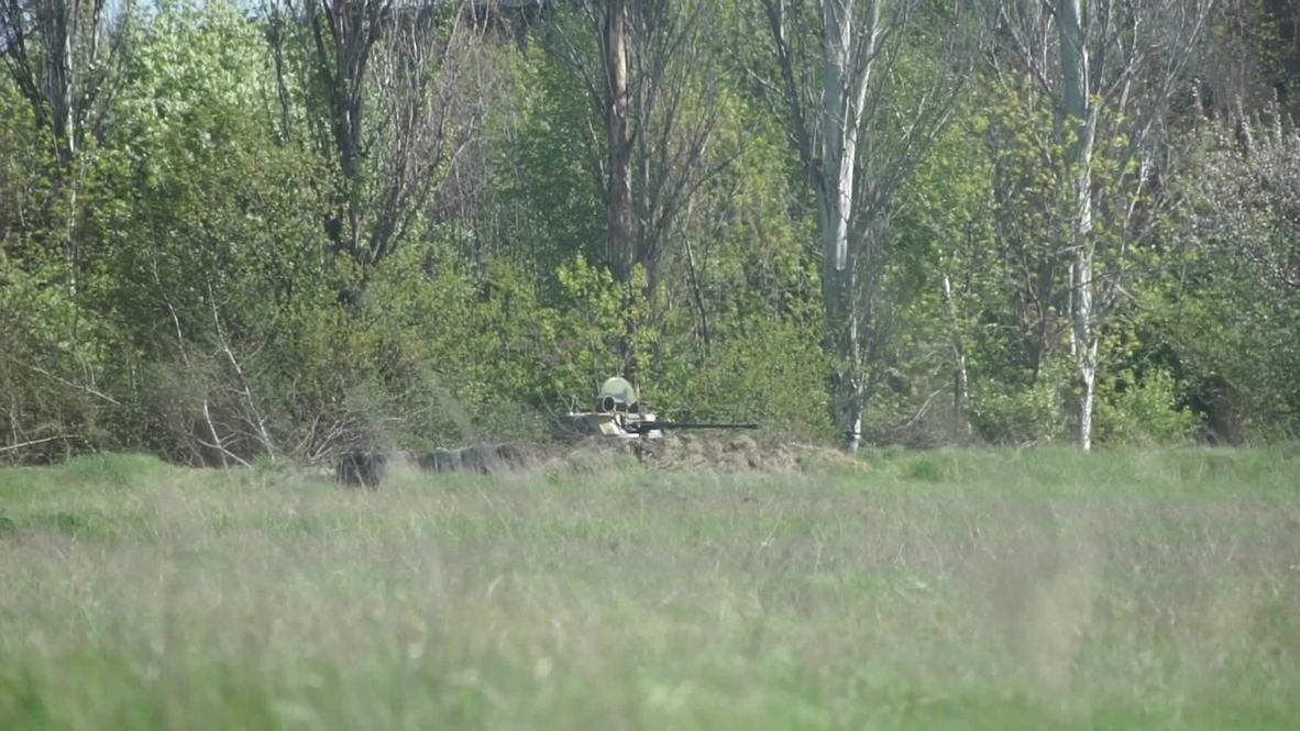 Ukraine: Shooting at Kramatorsk airfield, two injured - reports