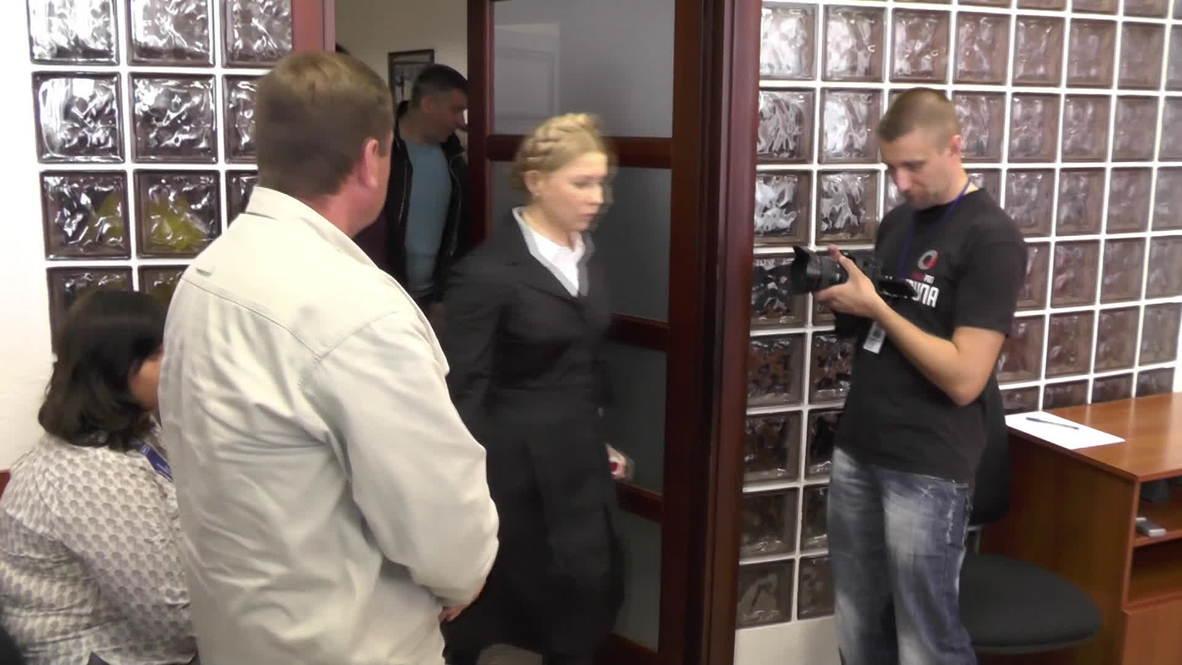 Ukraine: 'Putin wants Yugoslavian scenario in Ukraine' - Tymoshenko