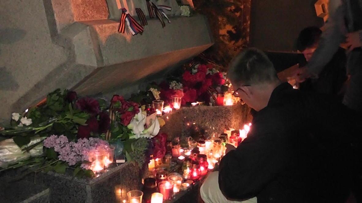 Russia: Sevastopol mourns Odessa blaze victims