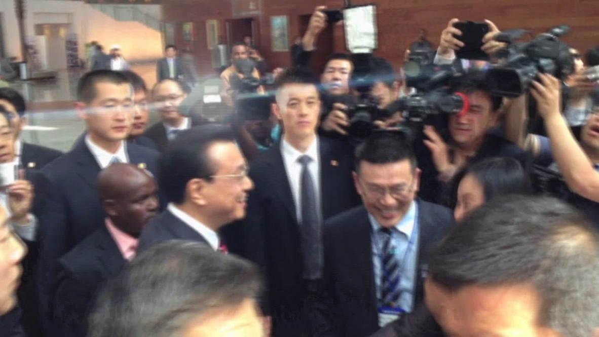 Ethiopia: Li Keqiang visits new AUC HQ in Addis Ababa