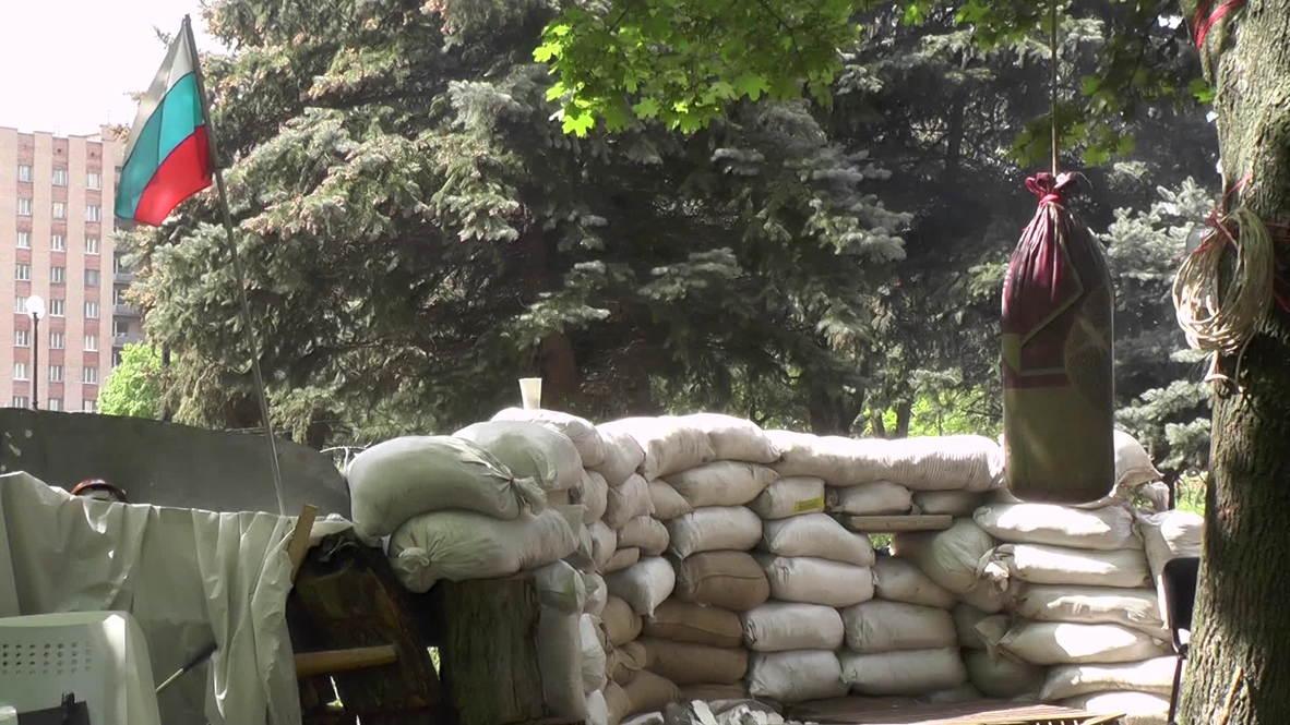 Ukraine: 'Fascism won't pass' at seized Lugansk SBU HQ