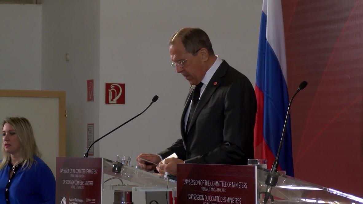 Austria: EU decided to tear Ukraine apart from Russia - Lavrov