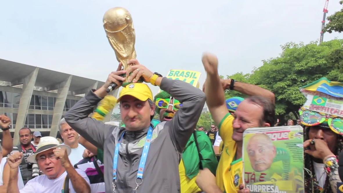 Brazil: Scolari unveils Brazilian World Cup squad