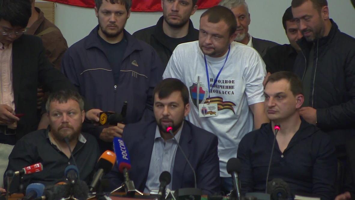 Ukraine: Donetsk People Republic vow to go ahead with referendum