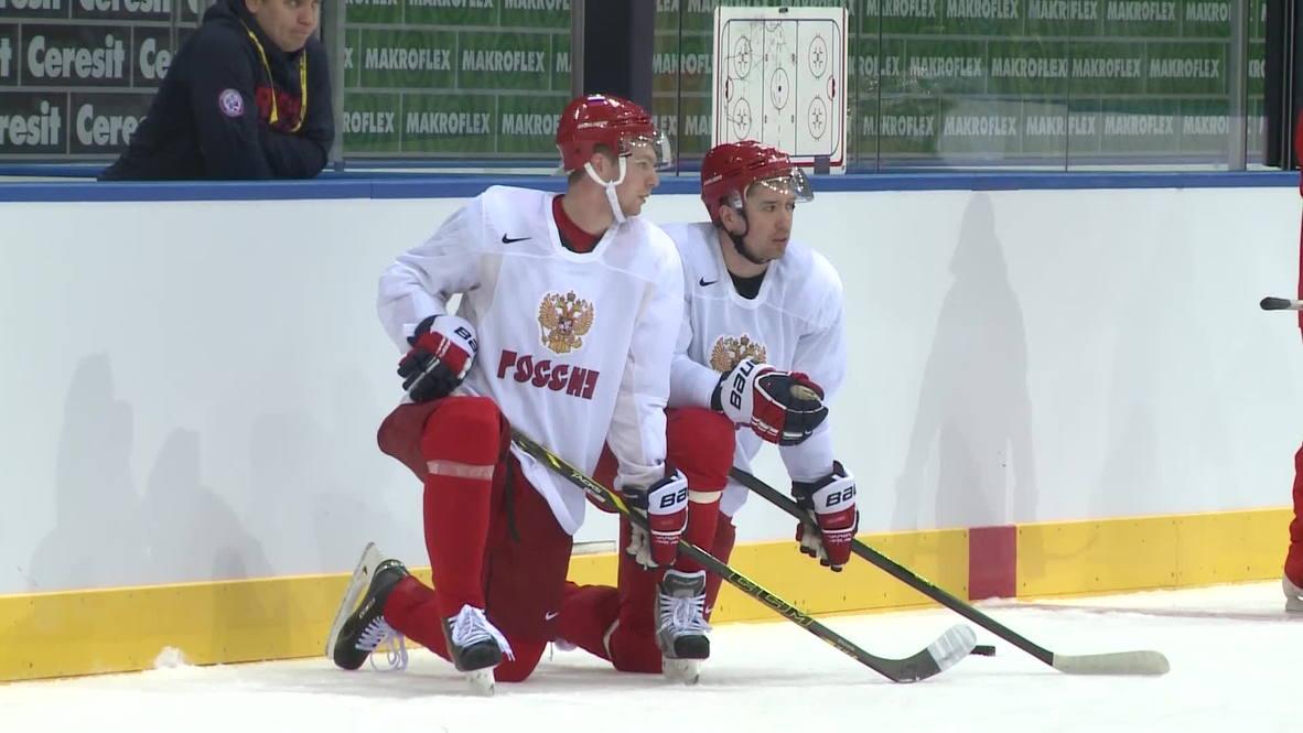 Belarus: Znarok hopeful of Russian victory after Belarus training