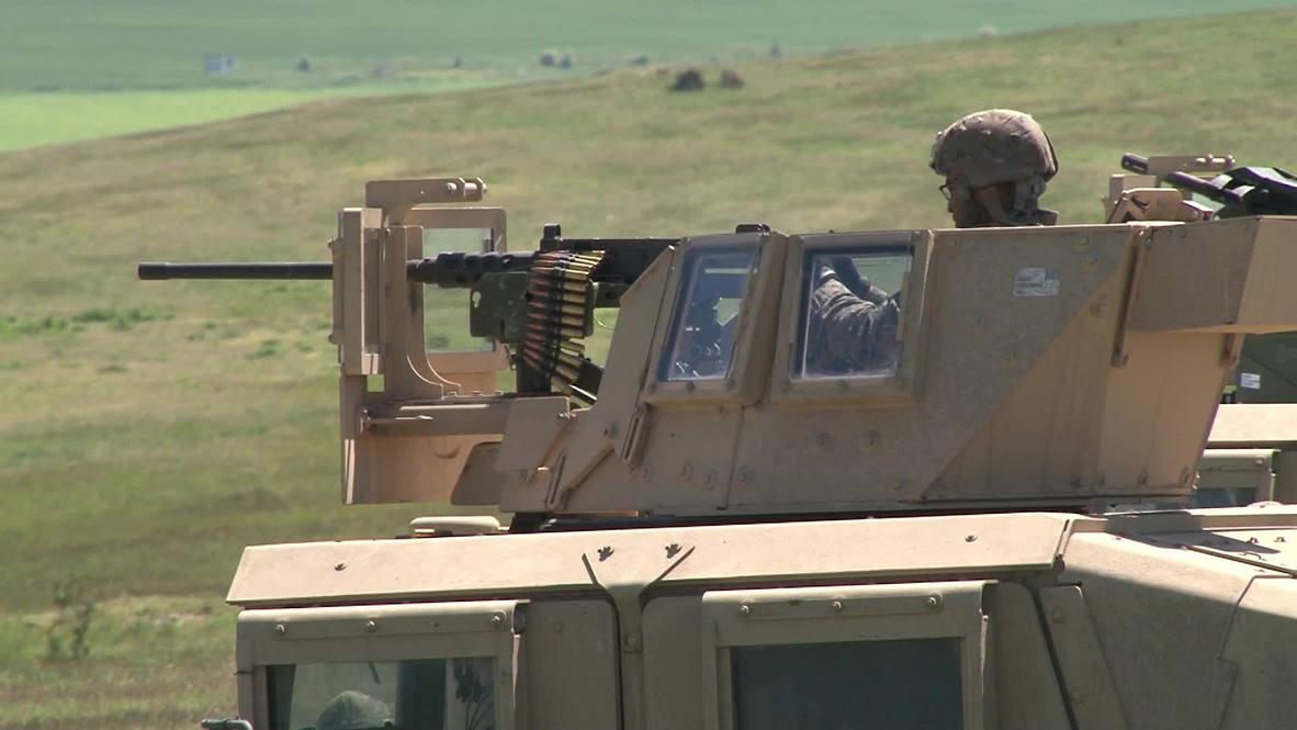 Romania: US marines in Eastern Europe for Platinum Eagle