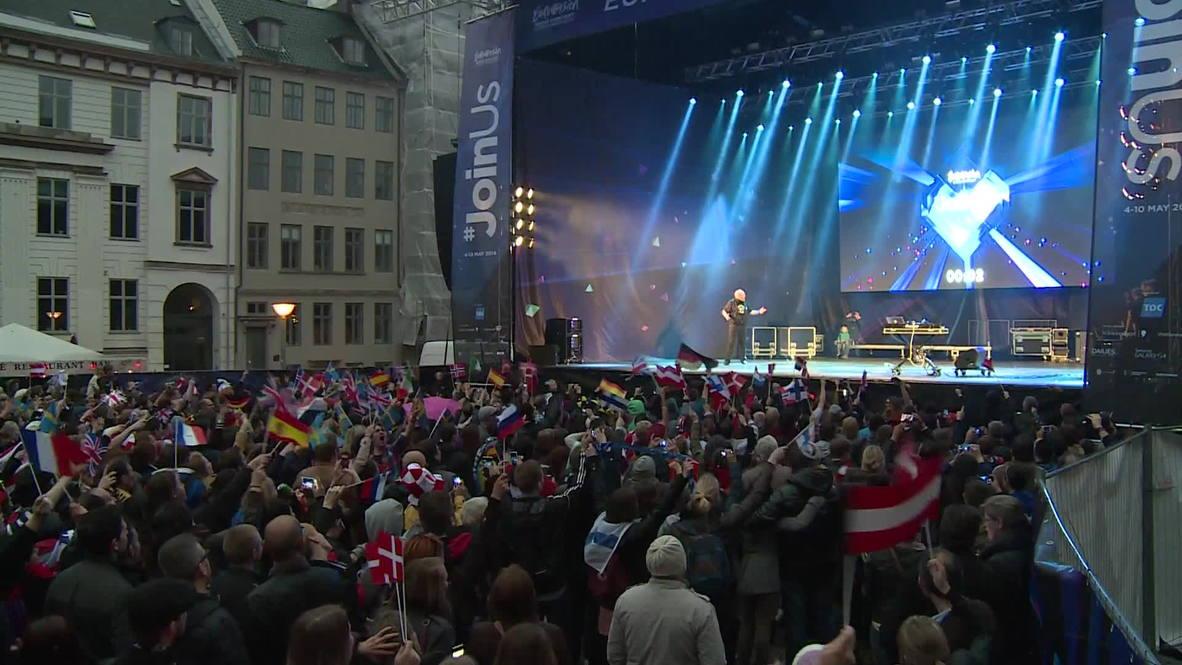 Denmark: Eurovision fans invade Copenhagen for grand final