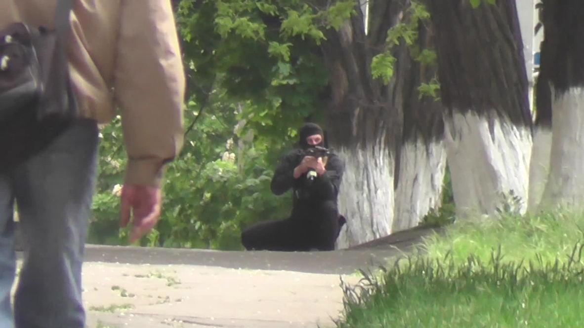 Ukraine: Last footage Ruptly journalist filmed before being shot