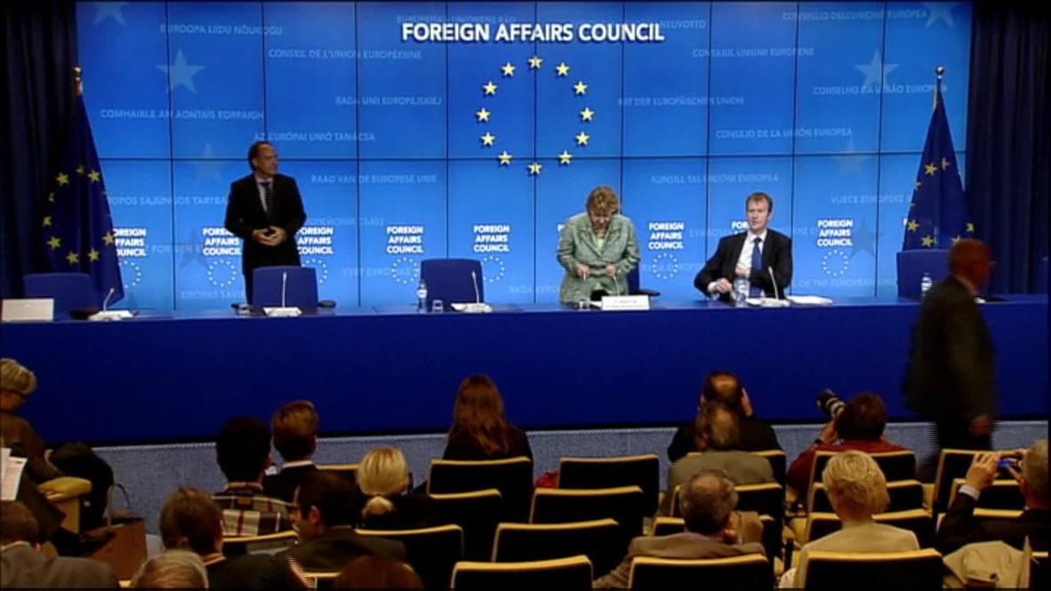 Belgium: Ashton announces more sanctions against Russian individuals