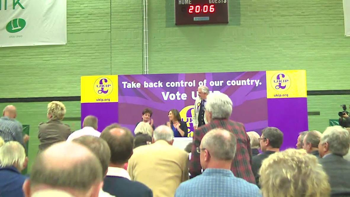UK: Nigel Farage says UKIP has no friends