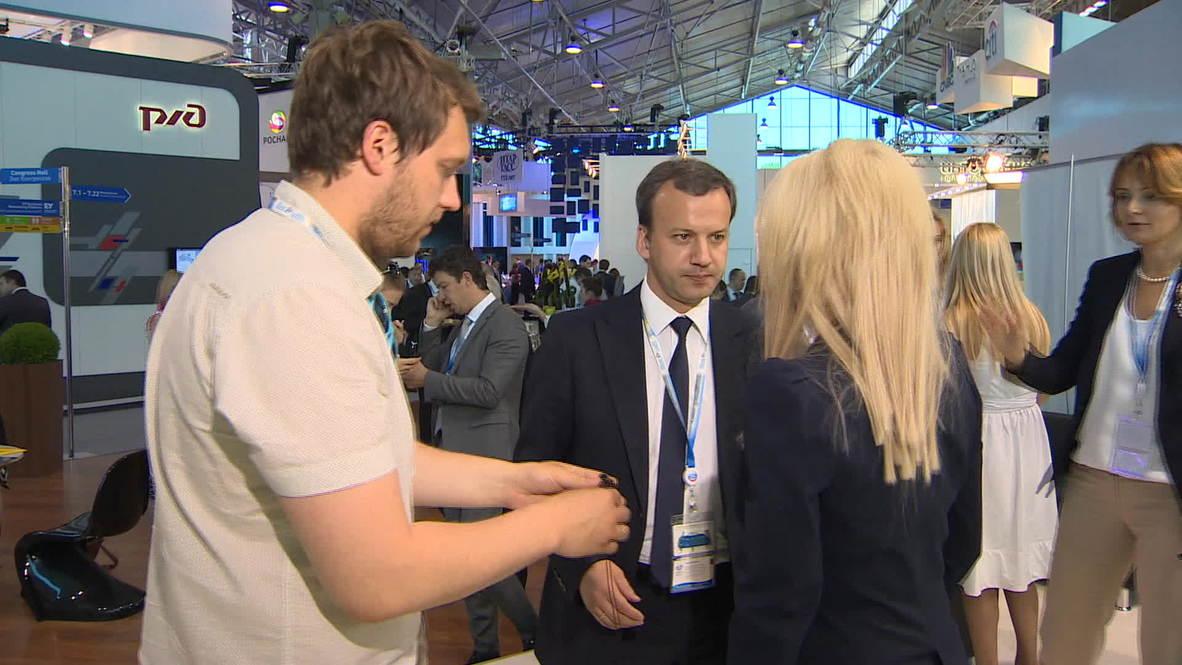 Russia: Western firms want business, not sanctions - Deputy PM Dvorkovich