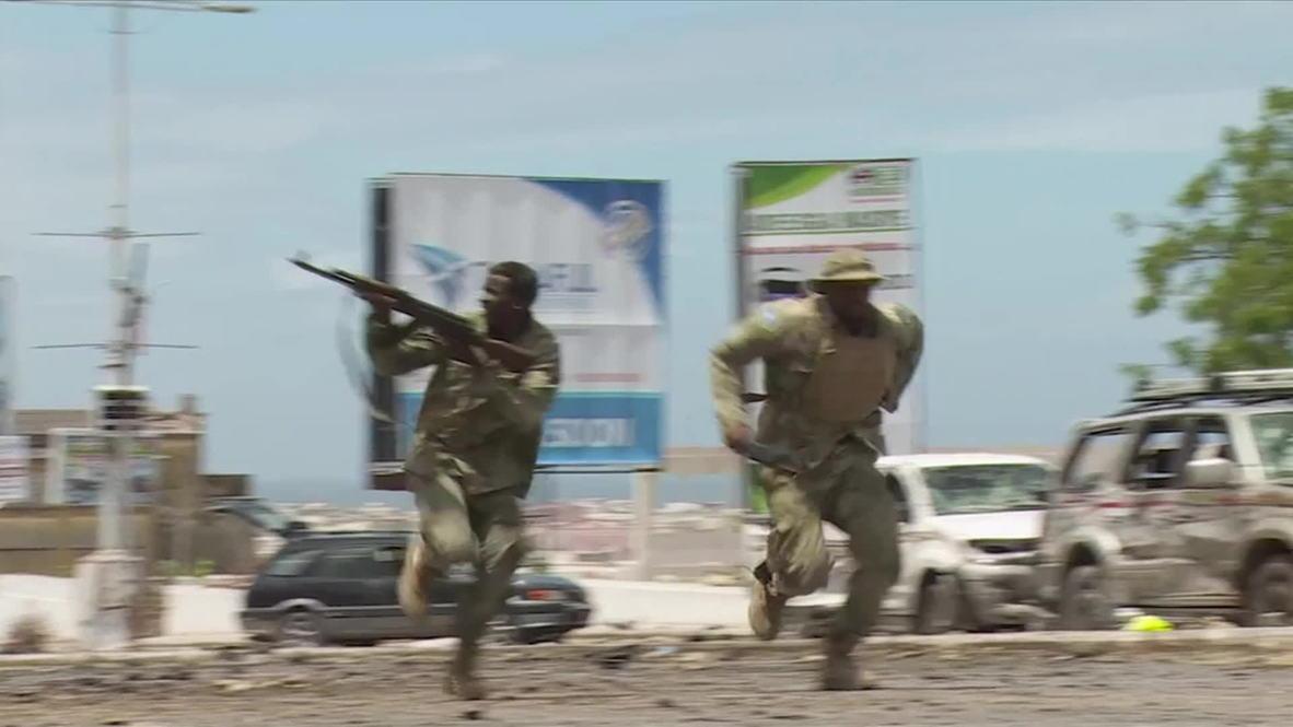 Somalia: Parliament comes under attack in Mogadishu