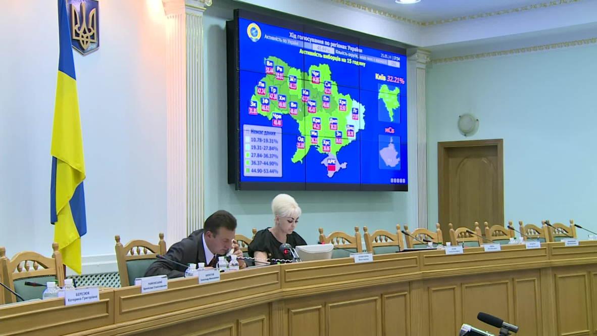 Ukraine: Highest turnout in west, central Ukraine - Central Election Commission Deputy Head