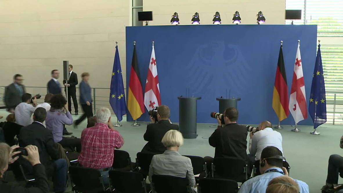 Germany: Merkel values Georgia's role in NATO