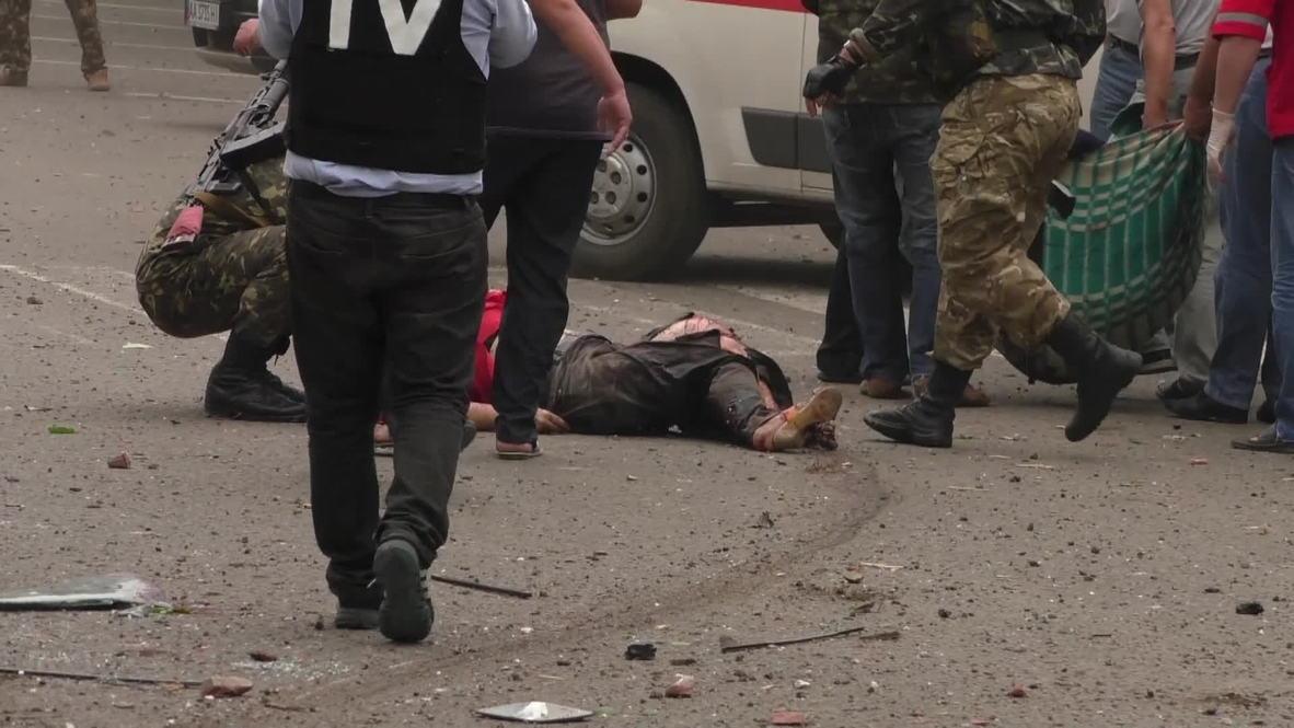 Ukraine: Multiple casualties in Kiev jet fighter attack