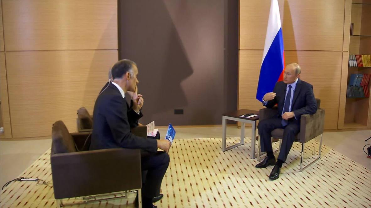 Russia: Poroshenko has a chance to fix Ukraine, says Putin