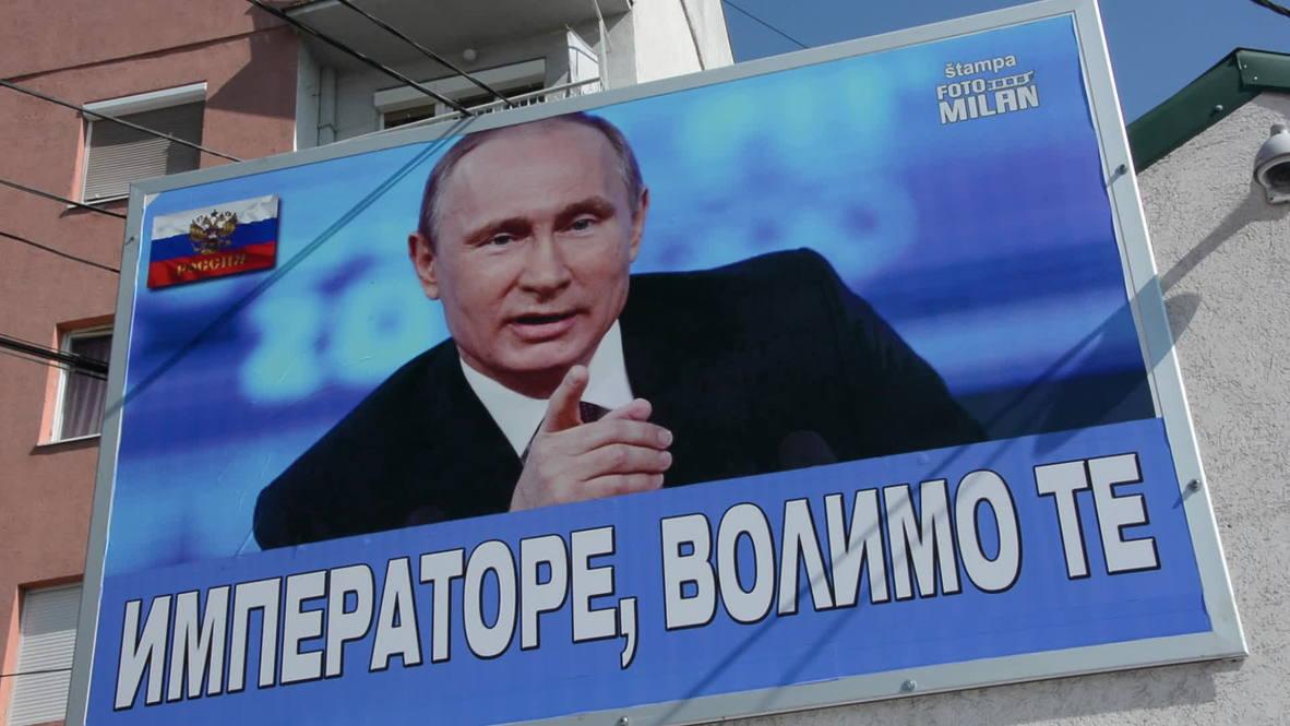 Serbia: Jagodina citizen declares love for Putin with giant billboard