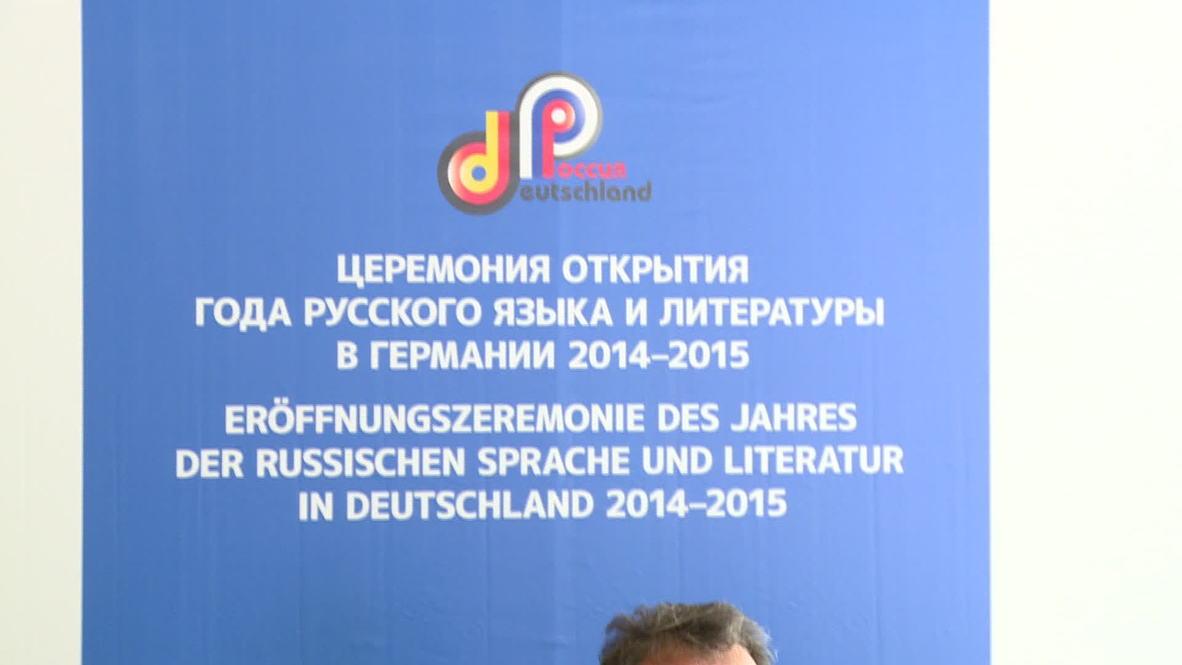 Germany: Berlin celebrates UN Russian Language Day despite political tensions