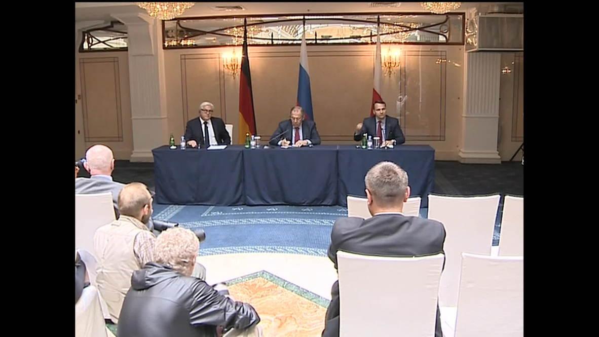 Russia: EU deal could sabotage Ukraine relations, warns Lavrov