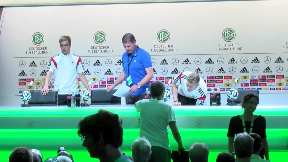 Brazil: German stars confident ahead of World Cup kick off