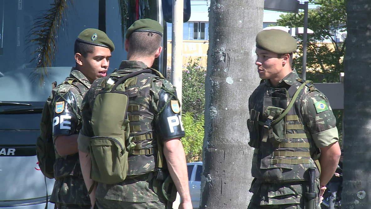 Brazil: Soldiers lock down Sao Paulo