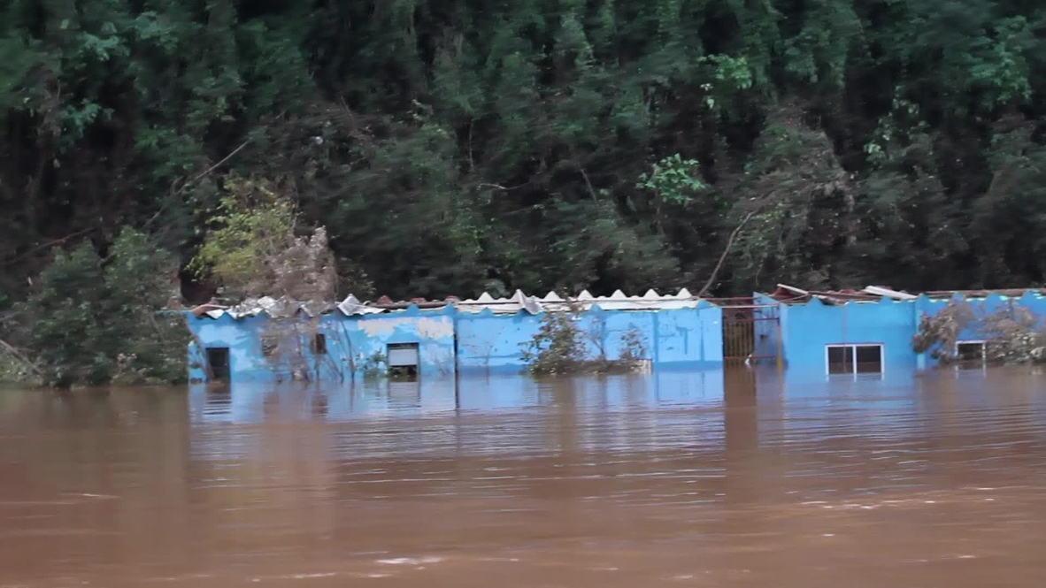 Brazil: Floods dampen World Cup spirits