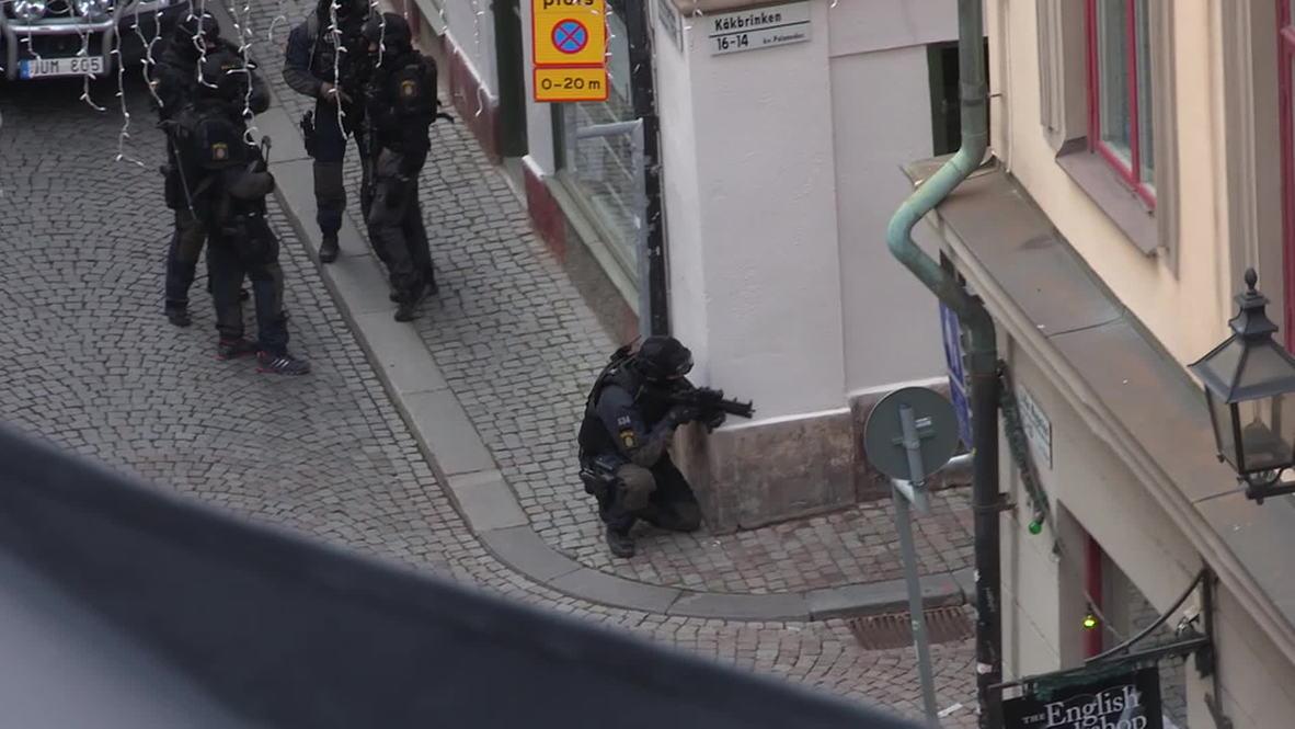 Sweden: SWAT team ready storm on suspected Stockholm bomber