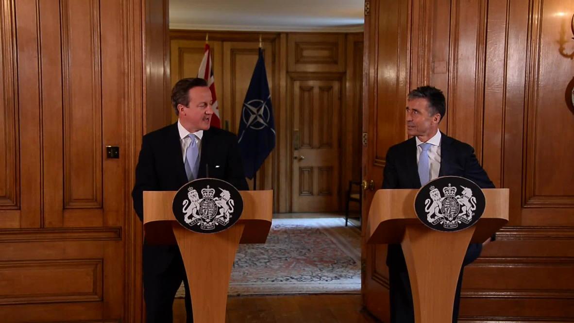 "UK: David Cameron – ""It's important I don't pick Iraq's leaders"""