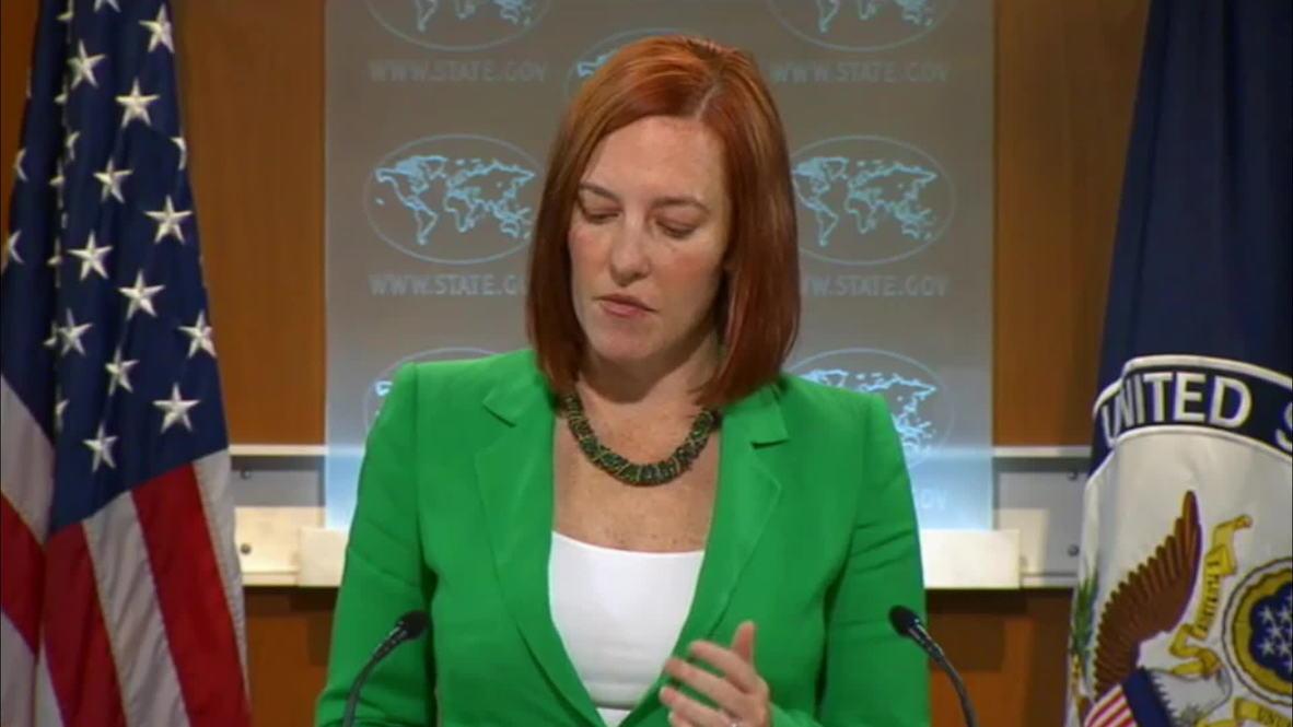 USA: Russia supplying anti-Kiev forces with tanks, artillery - Psaki