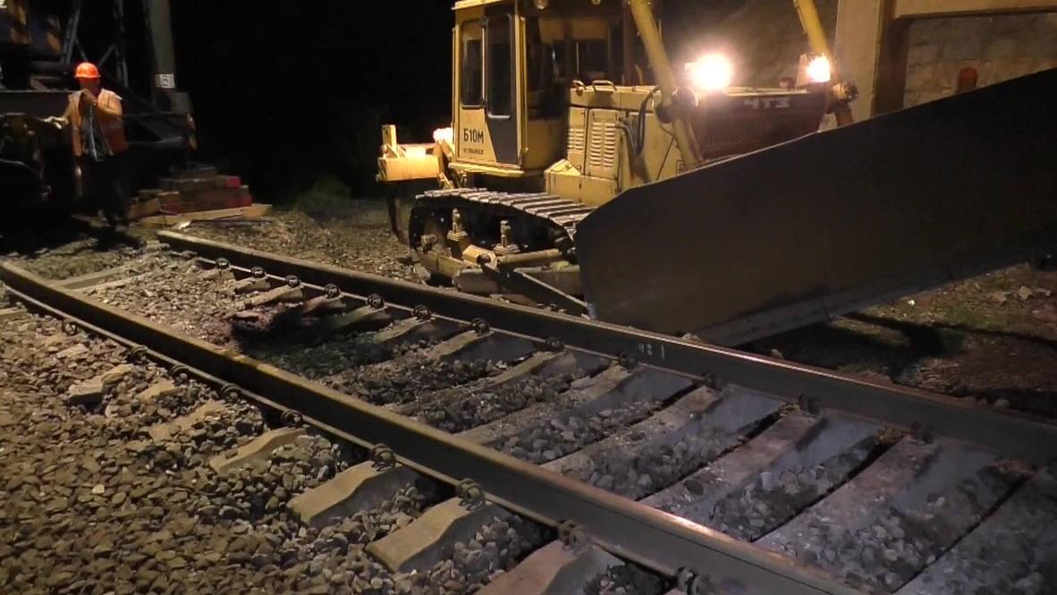Ukraine: Russian train derailed in railway attack