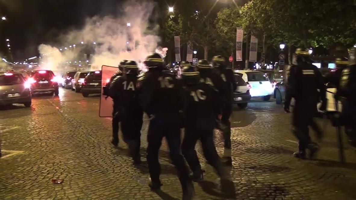 France: Paris goes ballistic as Algeria fans celebrate