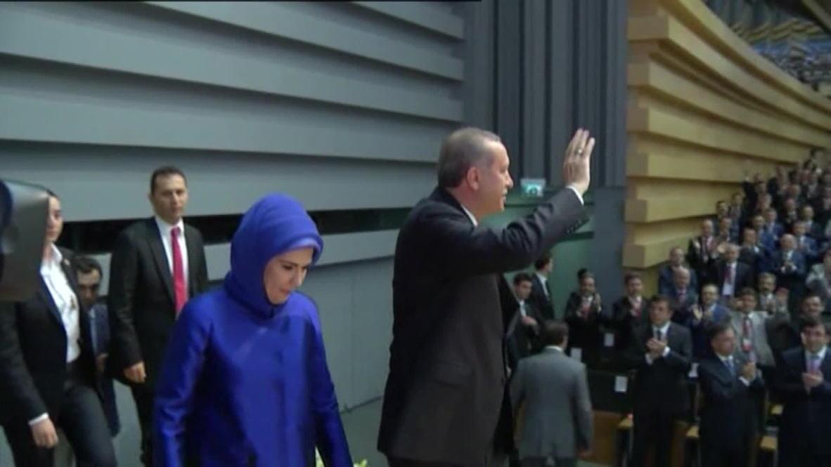 Turkey: Erdogan announced as AK Party presidential candidate