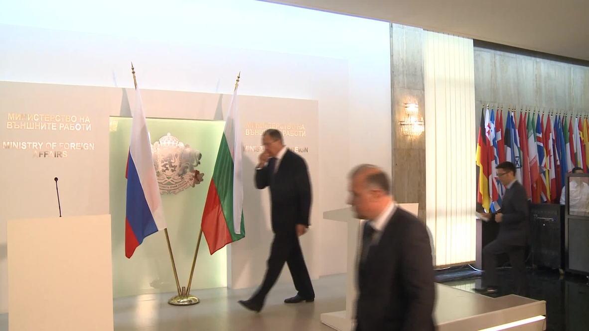 Bulgaria: Lavrov calls for immediate ceasefire in E. Ukraine