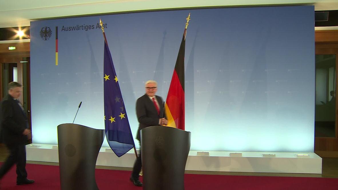 Germany: 'No alternative to US co-operation' says Steinmeier despite spy scandal