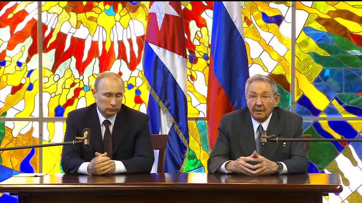 Cuba: Putin announces Cuba's $35 billion debt to Russia written off