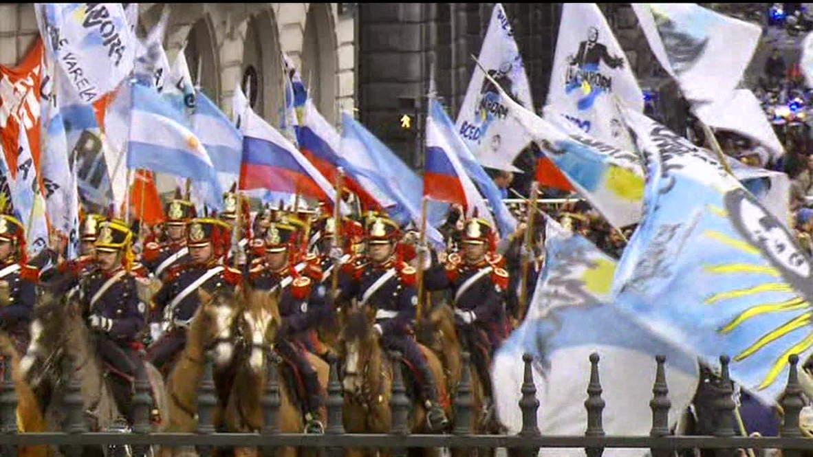 Argentina: Putin arrives for talks with Kirchner