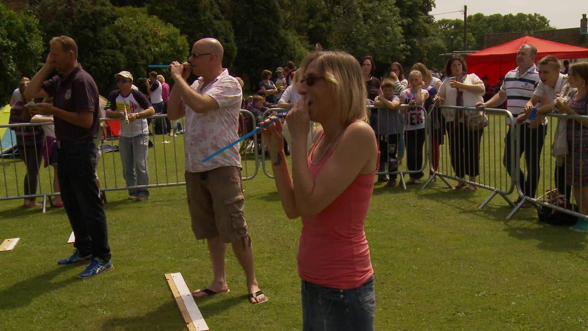 UK: Give peas a chance! World Pea Shooting Championship hits rural England