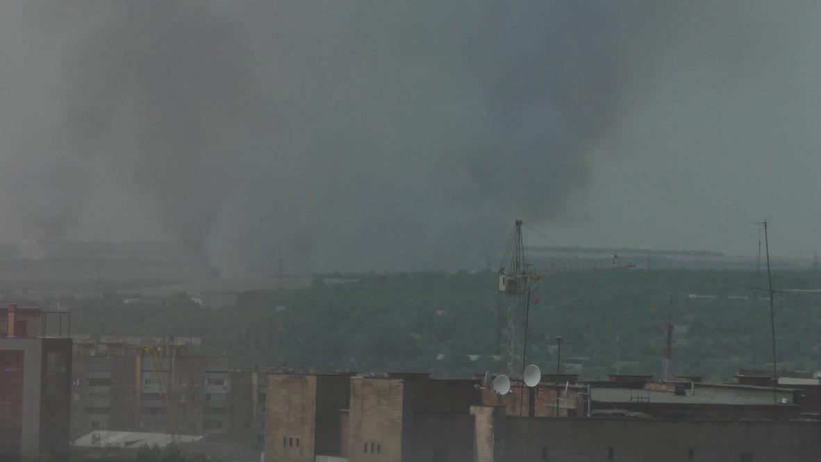 Ukraine: DPR report 70 Kiev tanks sent into west of Lugangsk city