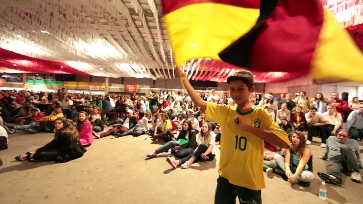 "Brazil: Brazil's ""mini-Germany"" celebrates World Cup win"