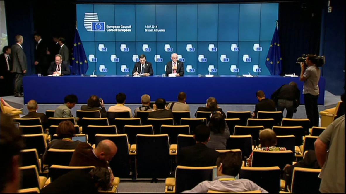 Belgium: New sanctions to target entities as well as individuals - Van Rompuy