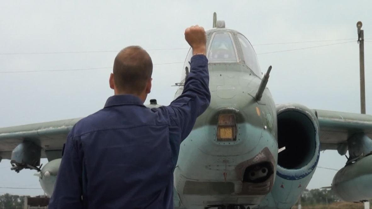 Russia: Modded Su-25SM3 jets duel over Krasnodar
