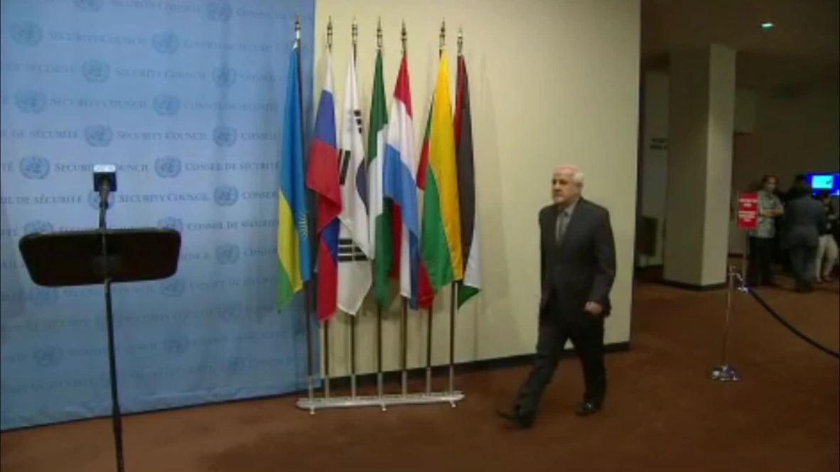 UN: Palestinian delegation implores UN to take a stand