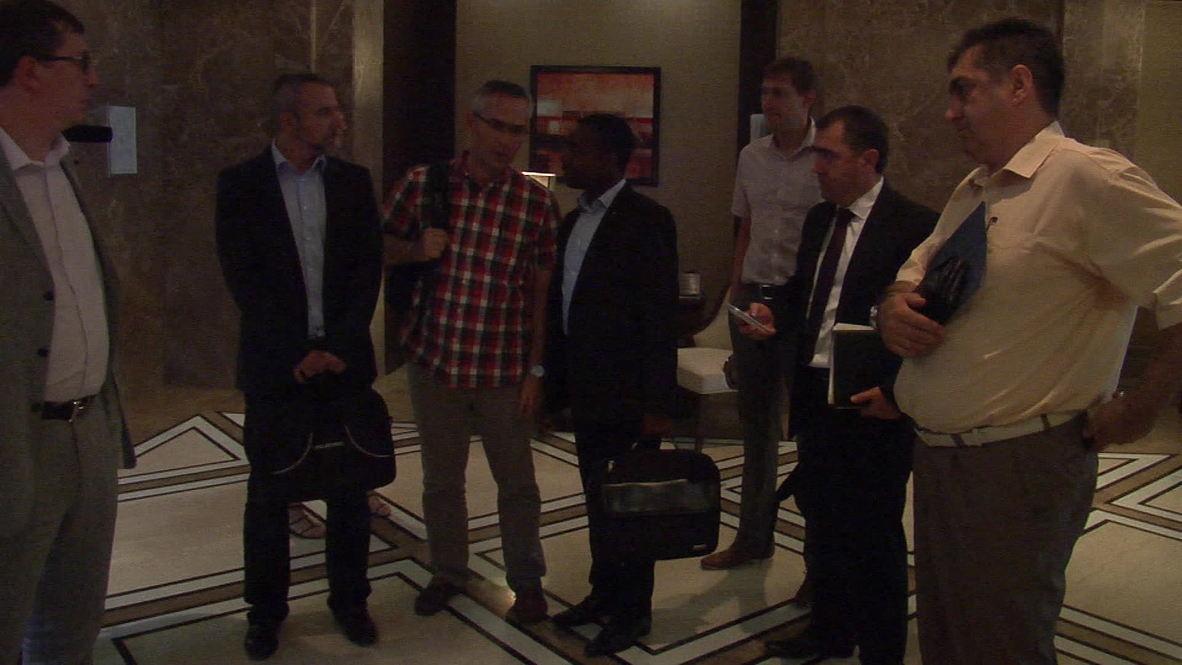 Ukraine: International experts arrive for MH17 probe