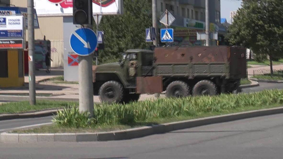 Ukraine: Fierce fighting around Donetsk train station