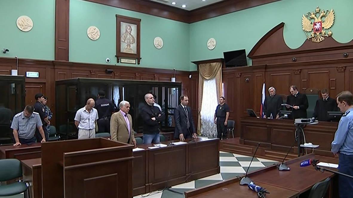Russia: Udaltsov and Razvozzhayev found guilty of inciting 2012 riot POOL