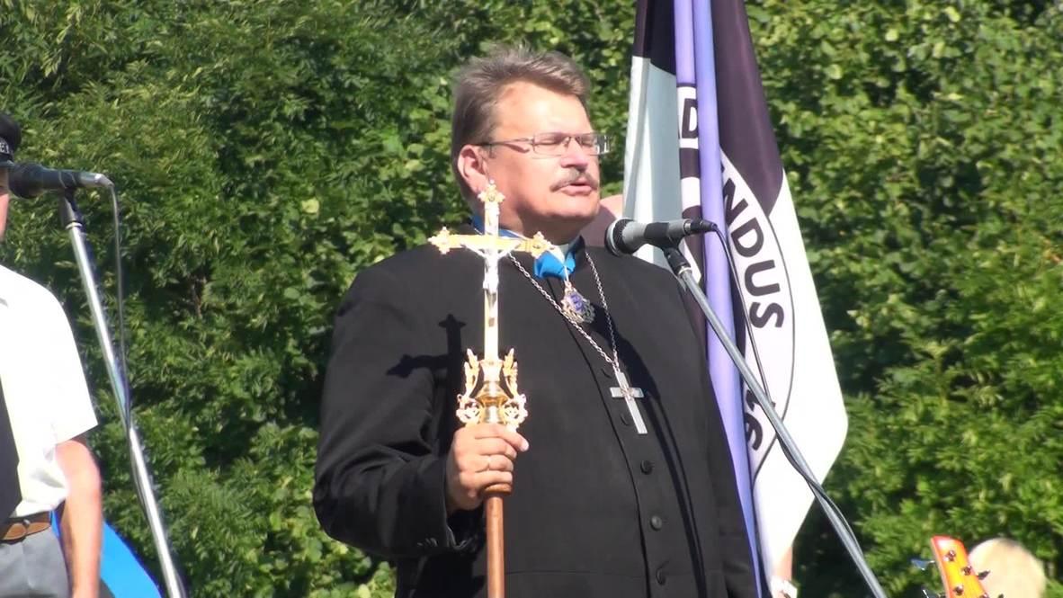 Estonia: SS veterans honour 70th anniversary of the Battle of Tannenberg Line