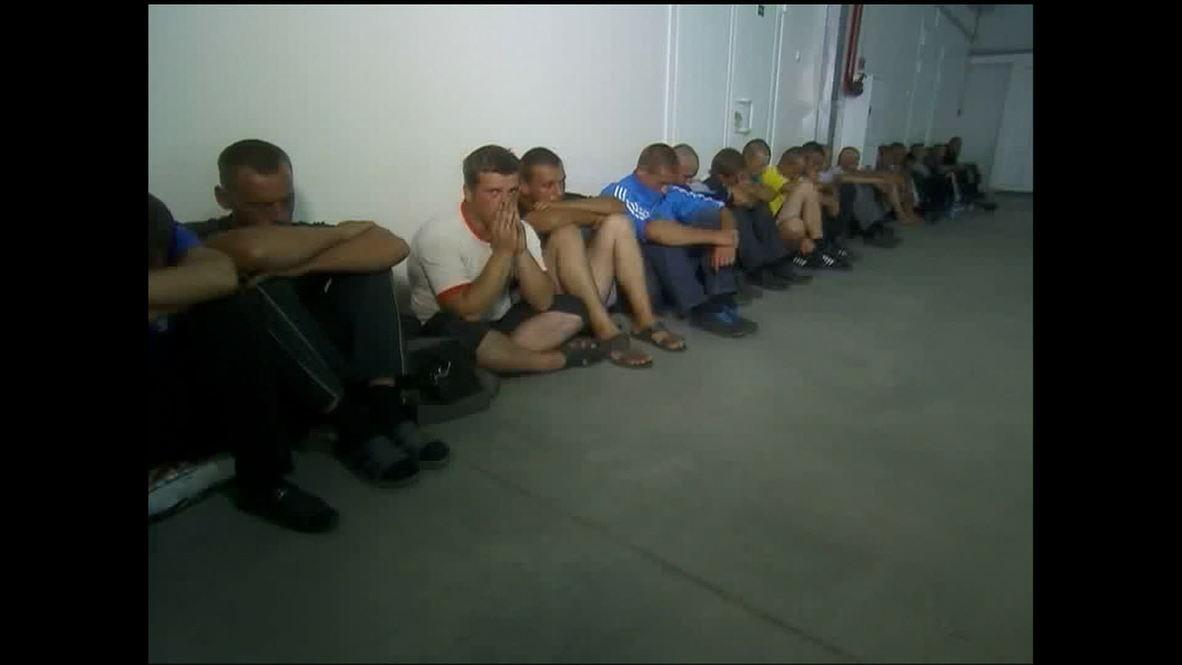 Russia: Over 40 Ukrainian troops flee to Russia