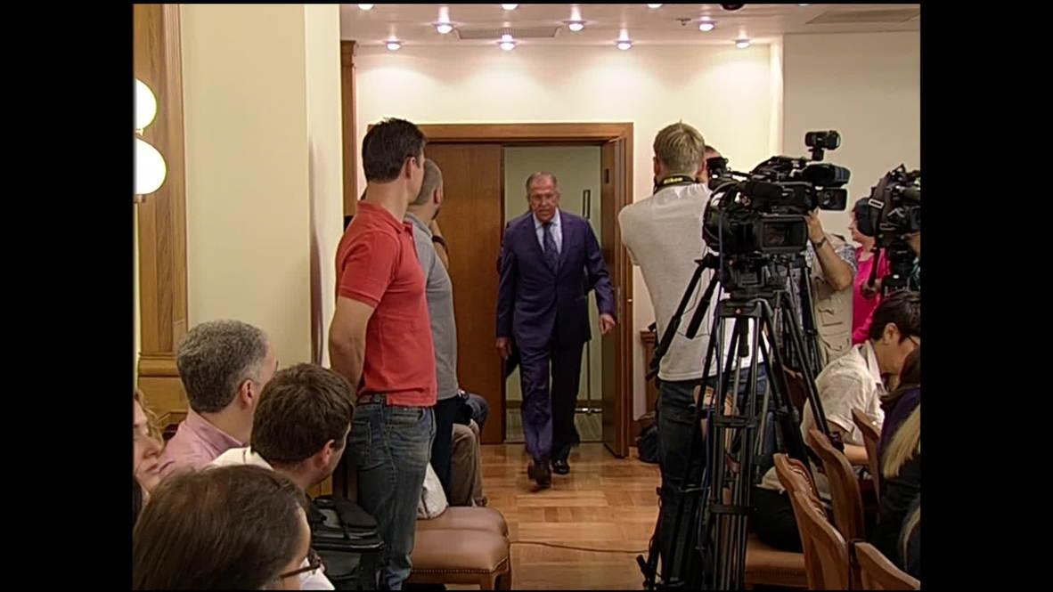 Russia: Lavrov hopes 'MH17 crash probe respects presumption of innocence'